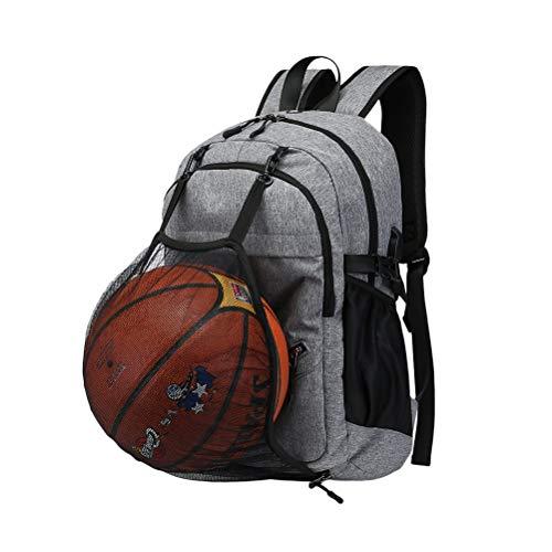 VORCOOL Mochila para portátil Mochila USB para Mochila de Viaje Multifuncional con Forma de Bola para Adolescente por VORCOOL