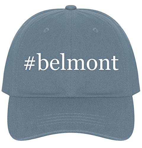 The Town Butler #Belmont - A Nice Comfortable Adjustable Hashtag Dad Hat Cap, Light -