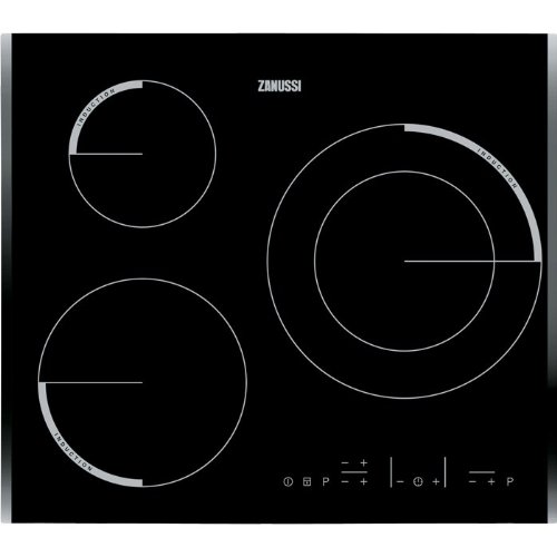 Zanussi ZEI6632BBA - Placa De Inducción Zei6632Bba Con 3 Zonas De Cocción