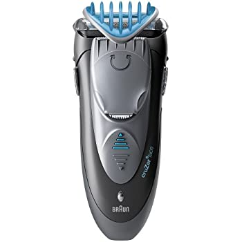 Braun Cruzer 6 Electric Shaver / Styler / Trimmer, 3-in-1 Ultimate Hair Clipper, Wet & Dry, Fully Washable