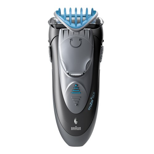 Braun Cruzer 6 Electric Shaver / Styler / Trimmer, 3-in-1 Ultimate Hair Clipper, Wet & Dry, Fully Washable by Braun