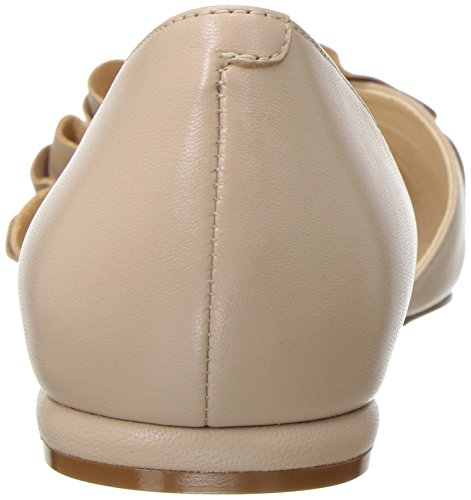 marketable cheap price clearance new styles Nine West Women's Short Leather Ballet Flat Natural sale low shipping fee for sale xMftC