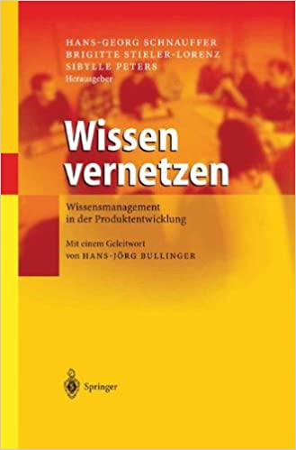 Book Wissen vernetzen: Wissensmanagement In Der Produktentwicklung