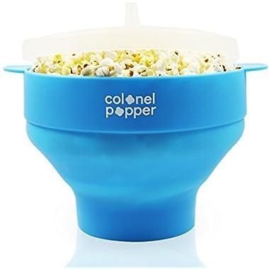 Colonel Popper Popcorn Maker - Blue