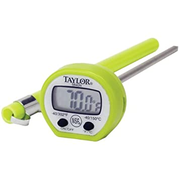 Taylor 9840 Digital termómetro de lectura instantánea