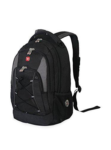 SwissGear Travel Gear Bungee Backpack (Black/Grey)