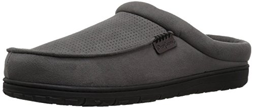 Slipper Men's Clog Pavement Microsuede Dearfoams Perforated PfIn6nUq