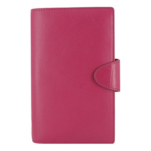 Pink Pen Filofax (Filofax 2018 Calipso Organizer, Compact (6.75 x 3.75), Pink, Planner with to do and Contacts Refills, Indexes and notepaper (C022424-18))