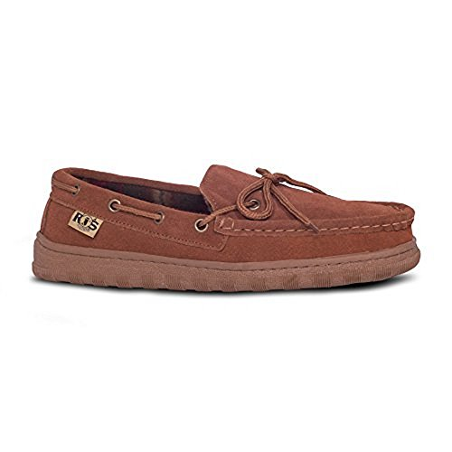 5ede452c19a78 RJs Fuzzies Mens Unlined Driving Moccasins in Wheat Real Cowhide Suede (14)