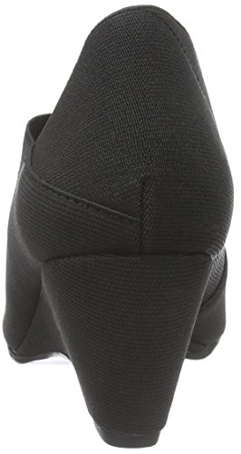 Verenigde Naakt Damen Origami Mid Pompen Schwarz (zwart)
