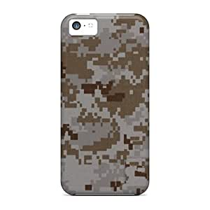 5c Scratch-proof Protection Case Cover For Iphone/ Hot Camo Desert Digital Phone Case