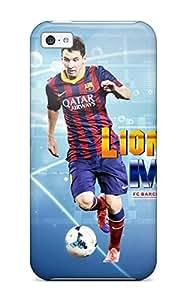 Cute Tpu ZippyDoritEduard Lionel Messi Barcelona 2014 Case Cover For Iphone 5c