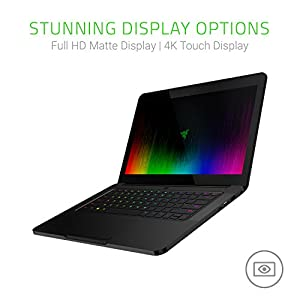 "Razer RZ09-01953E73-R3U1 The Blade 14"" Thin & Light Gaming Laptop - Full HD IPS Display, 7th Gen Intel Core i7-7700HQ, GeForce GTX 1060 (6GB GDDR5 VRAM) VR Ready, 16GB RAM, 1TB PCIe SSD"