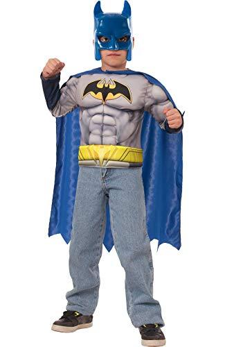 (Batman Muscle Chest Shirt Costume)