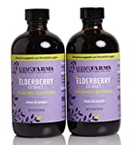 Norm's Farms Children's Formula Black Elderberry Extract & Blueberry Juice 8 Ounce Bottle, Pack of 2