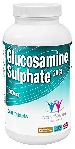 Amazon.com: Custodia conjunta glucosamina Sulfato 2 KCl 1500 ...