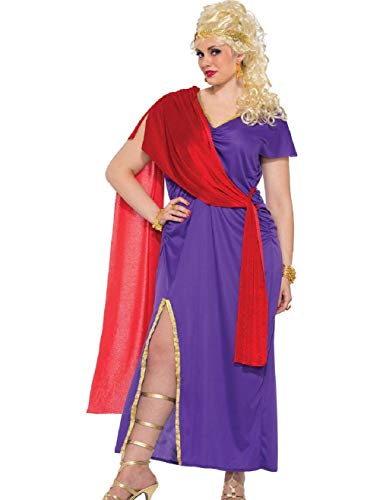 Adult's Womens Roman Woman Goddess Dress Costume X-Large 18-22 ()