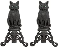 Uniflame, A-1251, Black Cast Iron Cat An...