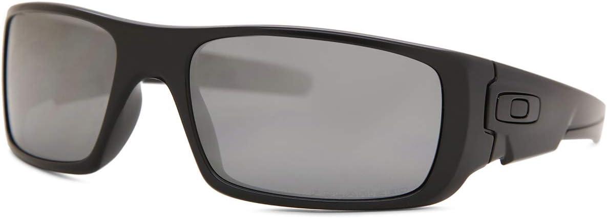 Oakley Gafas Crankshaft Blk/Blk Irid Uni: Amazon.es: Deportes y ...