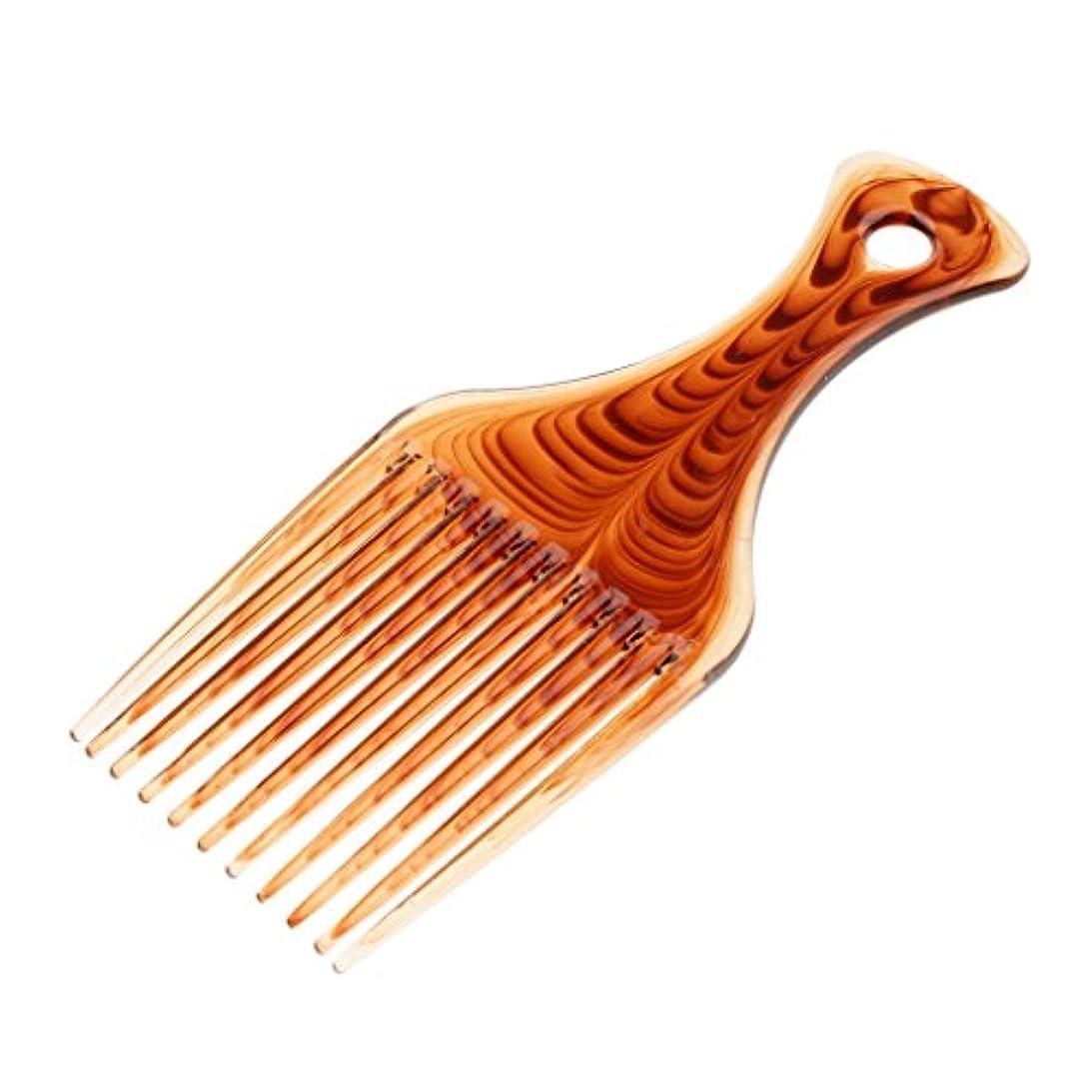 作る扇動する尊敬Kesoto ヘアコーム ヘアブラシ くし プラスチック製 アフロ 髪の櫛 かつらにも適用 スタイリング 持ち上げ ヘアブラシ