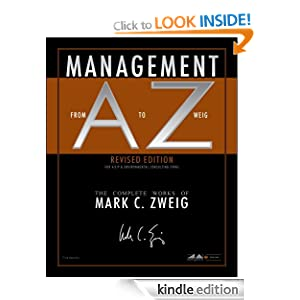 Management From A to Zweig, Revised Edition Mark C Zweig