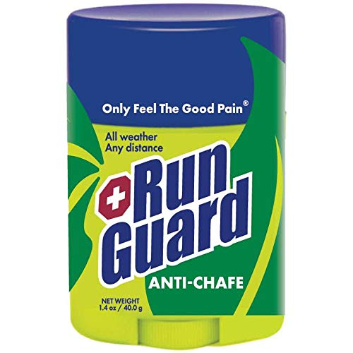 RunGuard Natural Anti-Chafe (1.4oz): Made with 100% Plant-Based Ingredients Plus Beeswax. Works for all distances, from 5K walks/runs to 100 Mile Ultra Marathons. (Best Distance To Run)