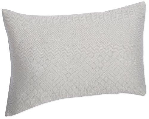 Calvin Klein Home Shenandoah Asscher Sham, Standard, Rockpool - Klein Bed Pillow