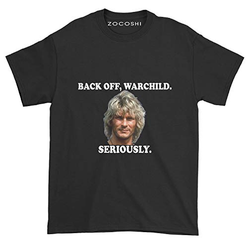 Back Off Warchild Seriously Handmade T-Shirt Hoodie Sweatshirt Long Sleeve