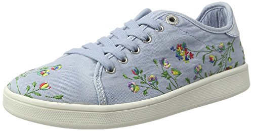 s.Oliver Damen 23647 Sneaker Blau (LT BLUE 810)