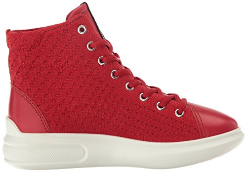 Red 3 Fashion ECCO Sneaker Chili Chili Soft Women's Red gBq64w6USW