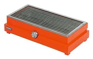 Heat Table BBQ–Barbacoa de gas, color naranja