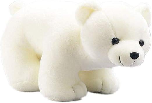 30cm Polar Bear Plush Toy Stuffed Animal White Bear Plush Doll for Kids /& Girls