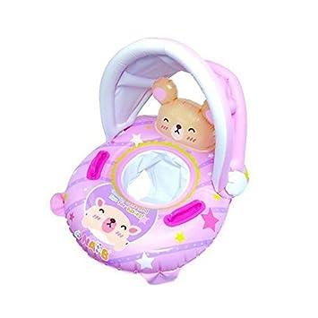 Amazon.com: nai-b K hámster bebé hinchable silla, Rosado: Baby