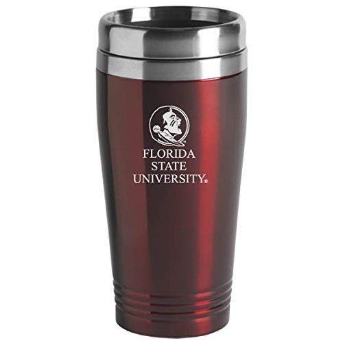 LXG, Inc. Florida State University - 16-ounce Travel Mug Tumbler - Burgundy