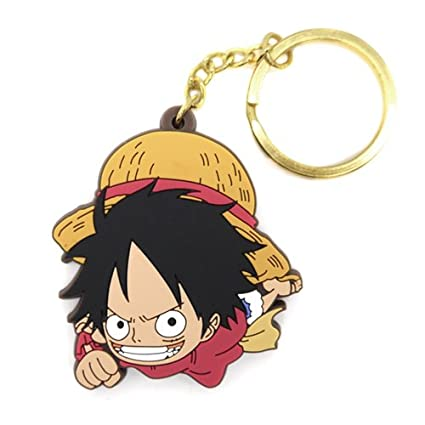 Amazon.com: One Piece Luffy Llavero Combat readiness Ver ...