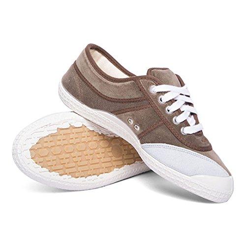 Kawasaki scarpe unisex L48 velluto marrone