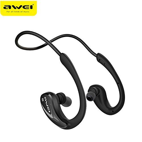 Awei A880BL Wireless Bluetooth Headset (Black) - 4