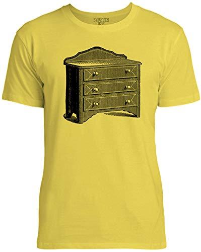 - Austin Ink Apparel Grandma Dresser Unisex Womens Soft Cotton Tee, Bright Yellow, Large