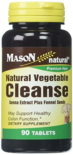 - Mason Vitamins Natural Vegetable Cleanse Tablets, 60 Count