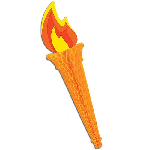 Tissue Torch Party Accessory (1 count) (1/Pkg) ()