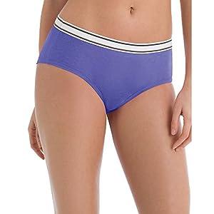 Hanes Women's Cotton Hipster Underwear, 6-Pack, Assorted, Size-8