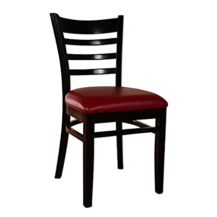 Beechwood Mountain BSD 5S B Solid Beech Wood Side Chairs In Black For  Kitchen