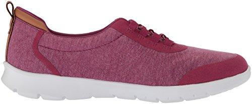 Clarks Fuchsia Women's Fabric Step Allenabay Sneaker Heathered Deep XBXqrdW