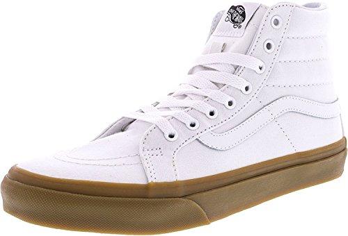 Vans SK8 Hi Slim Light Gum/True White Women's Classic Skate Shoes Size Women 9.0/ Men 7.5 For Sale