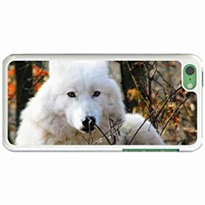 Custom Fashion Design Apple iPhone 5C Back Cover Case Personalized Customized Diy Gifts In Beautiful White