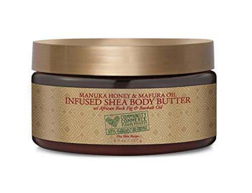 - SheaMoisture 4.5 oz Manuka Honey & Mafura Oil Infused Shea Butter