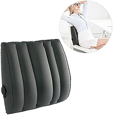 Amazon.com: Ladovin - Cojín hinchable de viaje con bolsa de ...