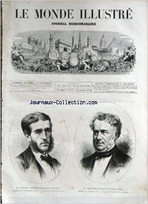 ce2f30af922dff MONDE ILLUSTRE (LE)  No 876  du 24 01 1874 - FRANCIS GARNIER - EXPLORATEUR  DU TONKIN - M. BALTARD - ARCHITECTE DE PARIS - SENTINELLE MAROCAINE -  TABLEAU DE ...