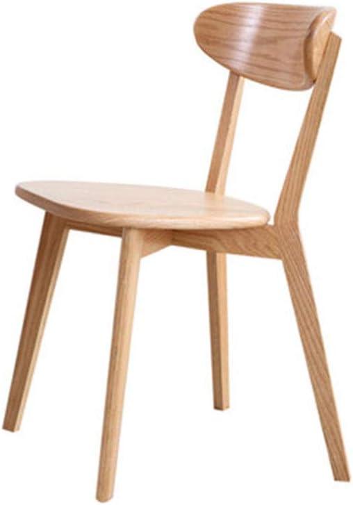 OLLTT Silla con Asiento, sillas de Madera, Silla de Comedor