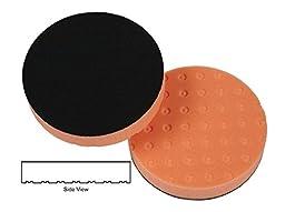 CCS 6.5 Inch Orange Light Cutting Pad-3 Pack